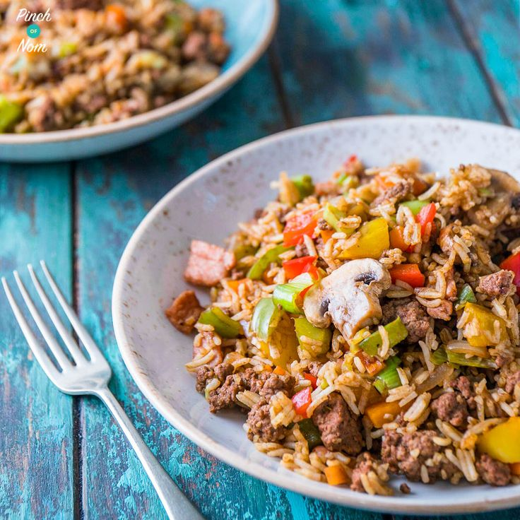 "This Syn Free Cajun Dirty Rice is our new and improved version of one of our most popular recipes this year!  You could call this.. Syn Free ""Filthy"" Rice! Thousand of you have made our Syn Free Dirty Rice, and we're inundated with question about it each week. One of the most frequently asked questions, is…"