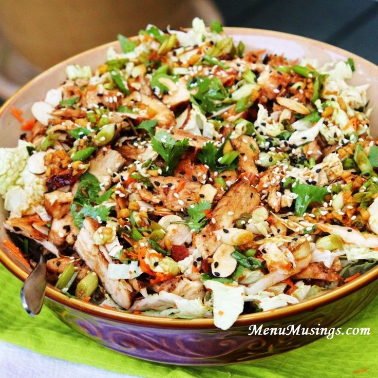 Step-by-step photo tutorial to making Curtis Stone's Grilled Ginger-Sesame Chicken Salad. how to make ginger sesame dressing, asian chicken salad, kids can cook, kids in the kitchen, healthy chicken salad, potluck recipes, easy chicken recipes,  easy asian recipes,