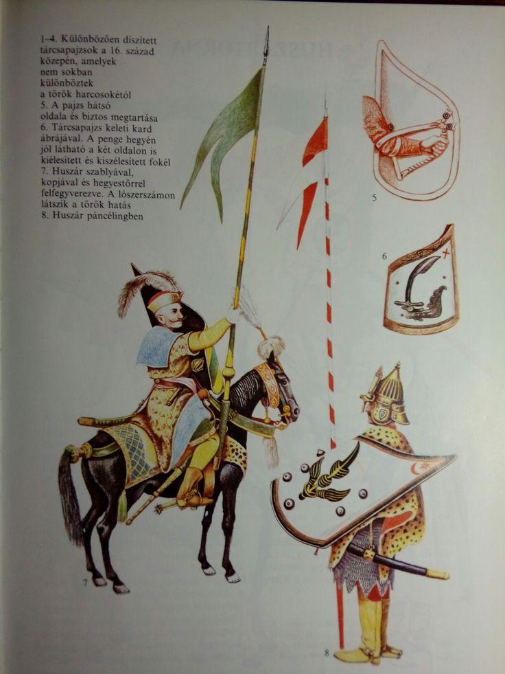 Magyar huszár (16.század) Forrás: Barcy Zoltán,  Somogyi Győző Magyar Huszárok, Móra Ferenc Könyvkiadó 1994.