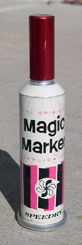 XXXX Magic Marker from the 1960s - I still remember how it smelled.  Almost gave you a high