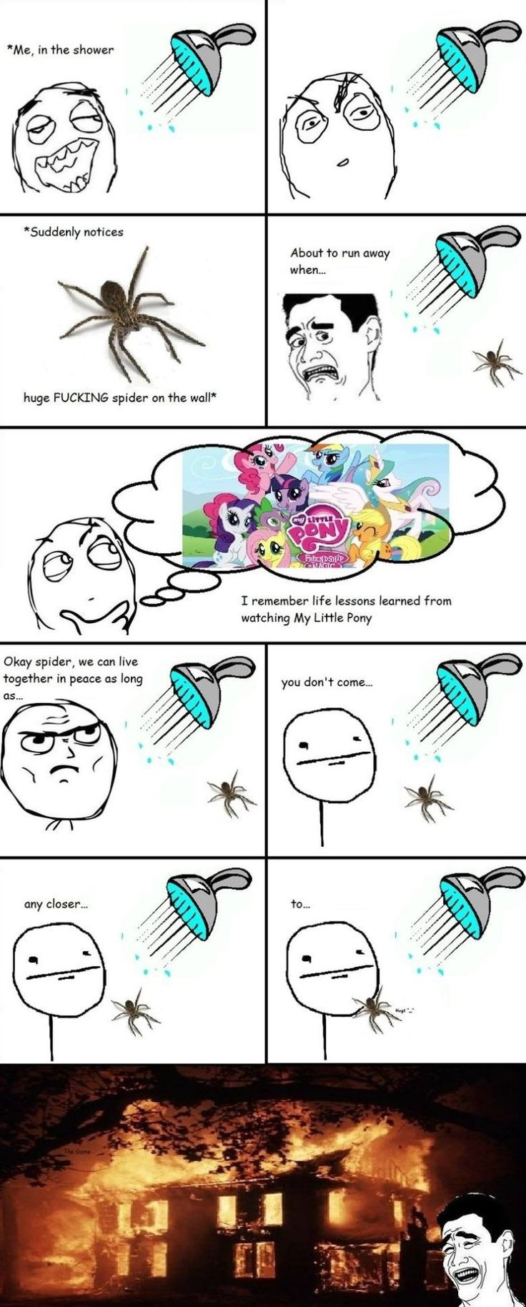 Rage Comics - Spiders - www.meme-lol.com