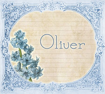 OLIVER ~ The Most Lovely Vintage Victorian Baby Names! | Disney Baby
