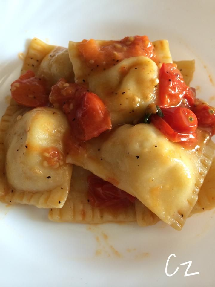 Look at my ravioli!