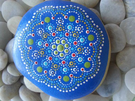 Dot Painted Stone/Painted Stone/Painted Rocks/TheLakeshoreStore/Lake Erie/Lakeside