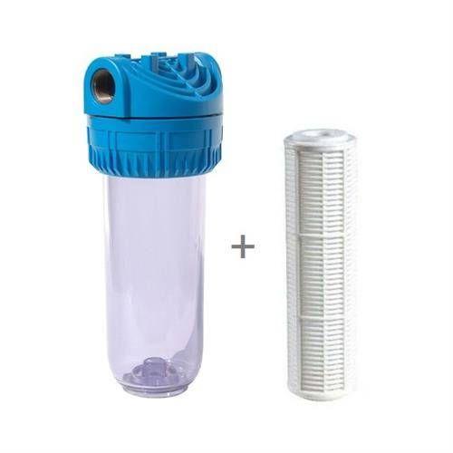 EV DAİRE GİRİŞİ SU FİLTRESİ TORTU İÇİN Kartuşlu tortu filtresi, tesisatınızdan ya da suyunuzun kaynağından gelen çamur, tortu, pas ve diğer partikülleri tutar.