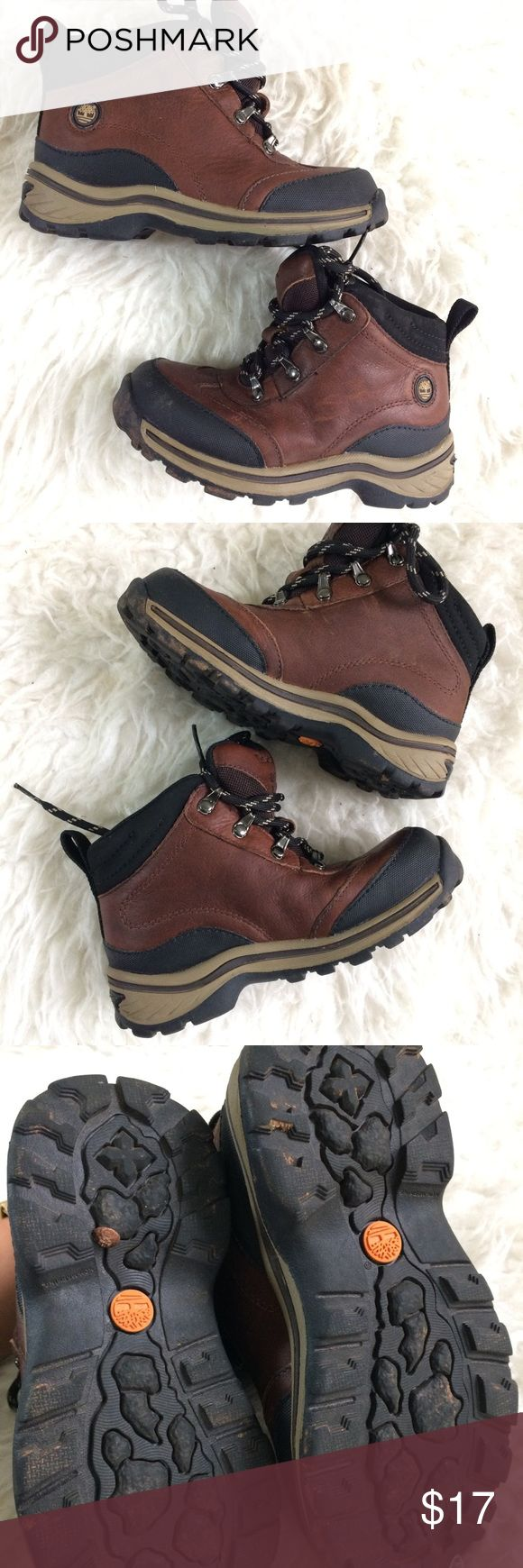 Boys brown Timberland boots size 10 Great condition Timberland boys boots toddler size 10. Minimal signs of wear, as pictured. Timberland Shoes Boots
