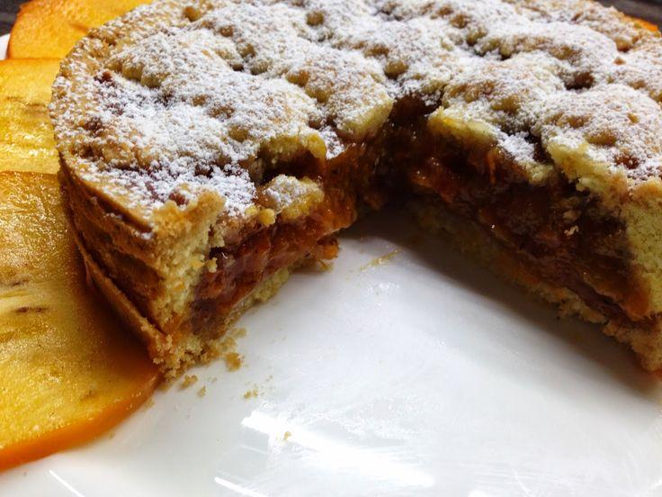 crostata # di # cachi
