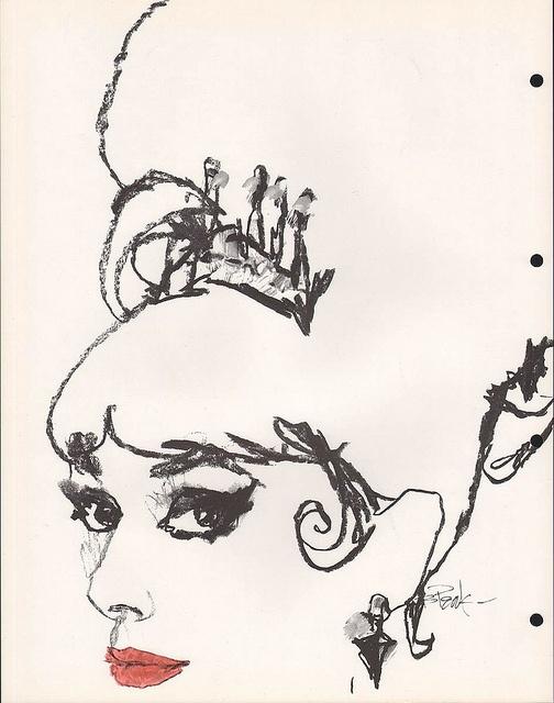 Audrey Hepburn Pink Background Painting Artists