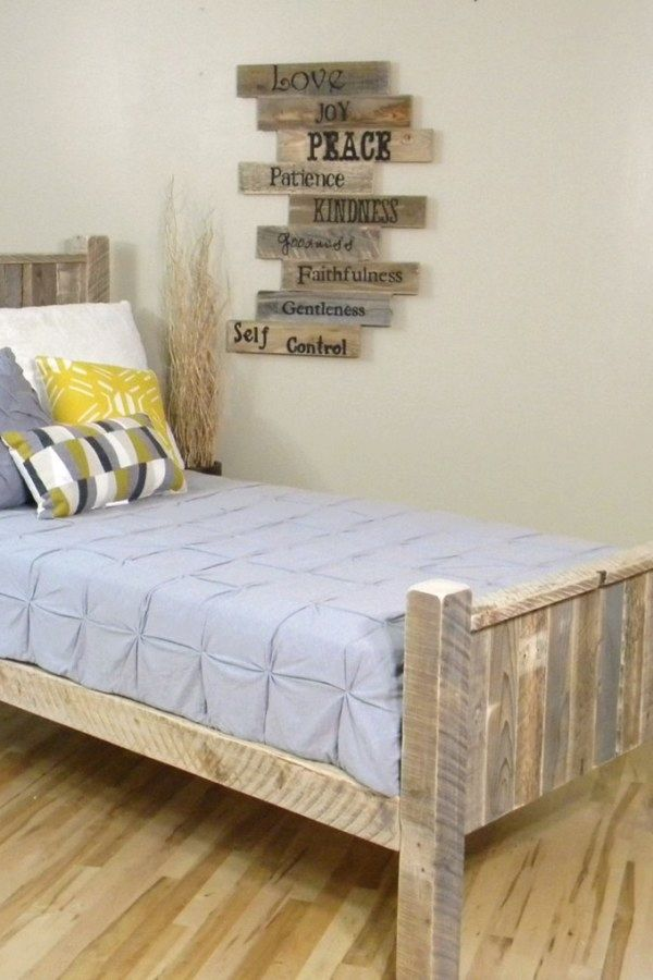 12 Functional Crate Bedroom Furniture Plans You Can Use To Update