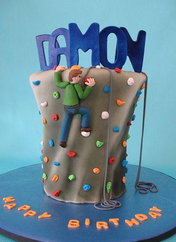 Rock climbing cake | by courtneyscakes