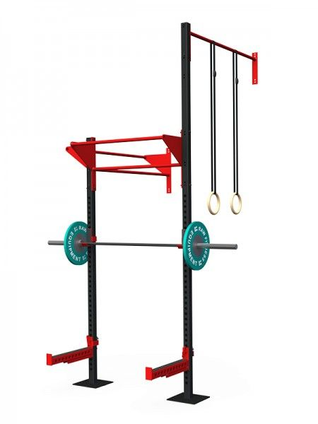 Wall Mounted Rig - Concept 03 - RAW Fitness Equipment