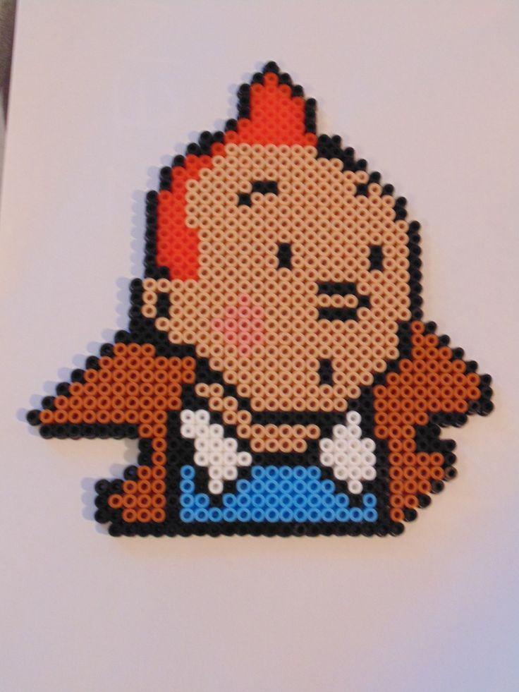 Tintin hama beads by un-jour-de-pluie72