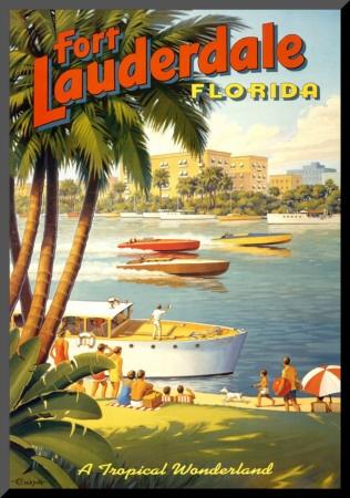 Charming Retro Fort Lauderdale Ad