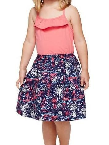 Lilly Pulitzer Girls Dory Dress in Sparks Fly