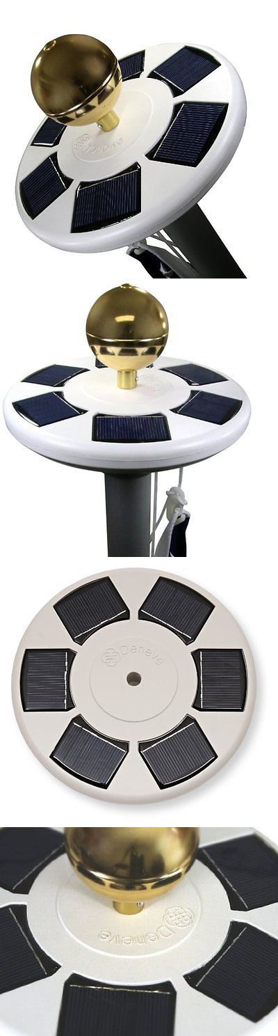 Flag Poles and Parts 43536: Deneve Solar Flagpole Light - Brightest, With Led Flagbeam Technology -> BUY IT NOW ONLY: $34.59 on eBay!