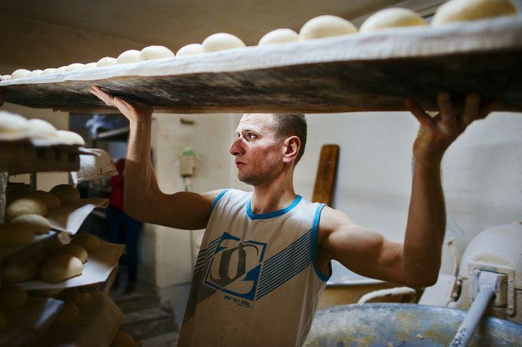 bakery in #wroclaw - makin' doughnuts #pączki #piekarnia #wrocław #nadodrze