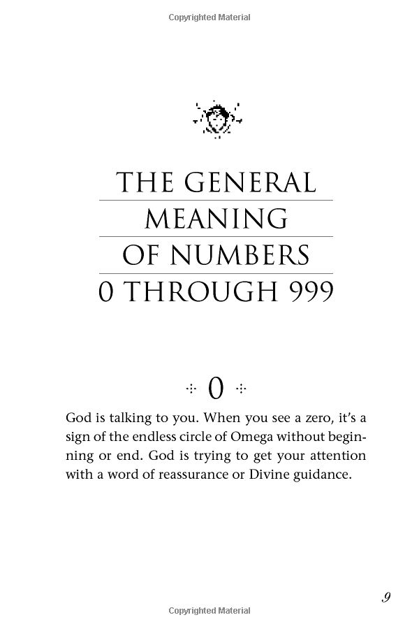 °The general meaning of numbers by DoreenVirtue