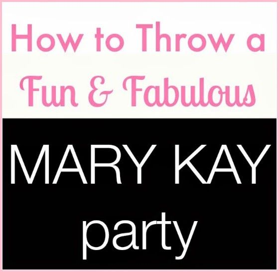 How To Throw a Mary Kay Party: A Hostess Perspective