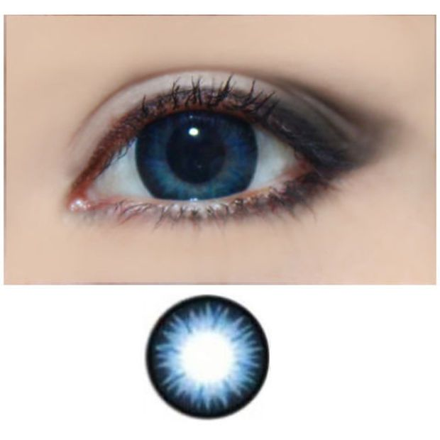 Pinned by Paige NorthropTrue Sapphire Contact Lenses