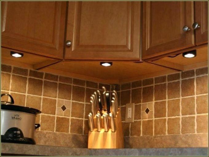 Diy Led Under Cabinet Lighting Installing Led Tape Under Cabinet