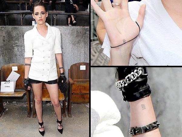 Kristen Stewart mostra nuovi tatuaggi a Parigi » GOSSIPpando | GOSSIPpando