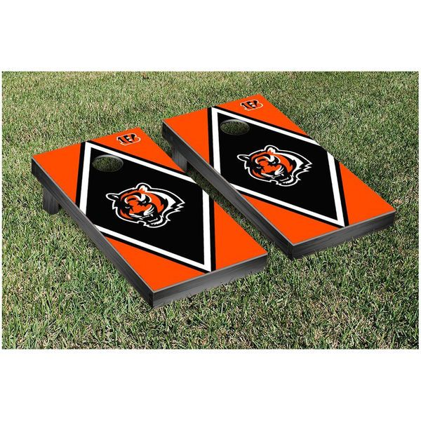 "Cincinnati Bengals 24"" x 48"" Diamond Cornhole Game Set - $249.99"