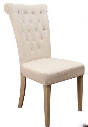 Pen og delikat Villa spisestol med høy rygg. Stolen er med sin høye rygg tilpasset nordiske forhold og gir god støtte og sittekomfort for liten som for stor. Mål:Høy