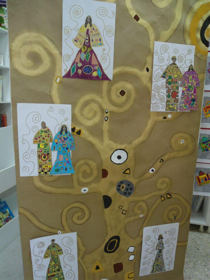 Klimt Tree of life (artwork from teacher Zetta)