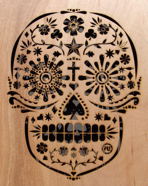 """""""Dia de los Muertos"""" Skull Screen"""