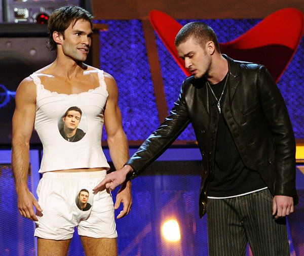 Seann William Scott and Justin Timberlake...