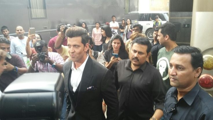Hrithik Roshan Spotted At Mehboob Studio Shooting For A New AD