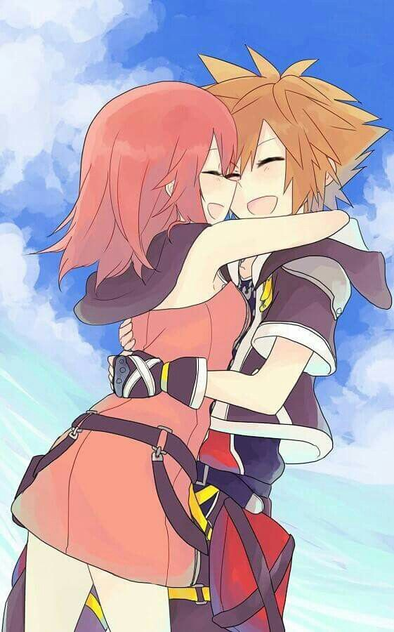 Kingdom Hearts - Sora x Kairi - SoKai