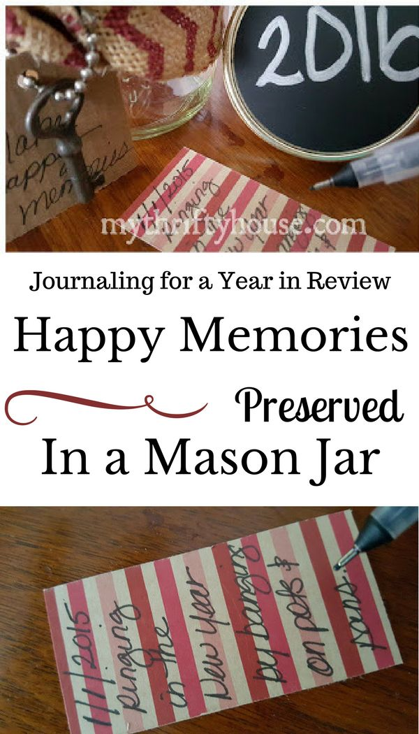 Learn how to preserve and share your happy memories in a mason jar.