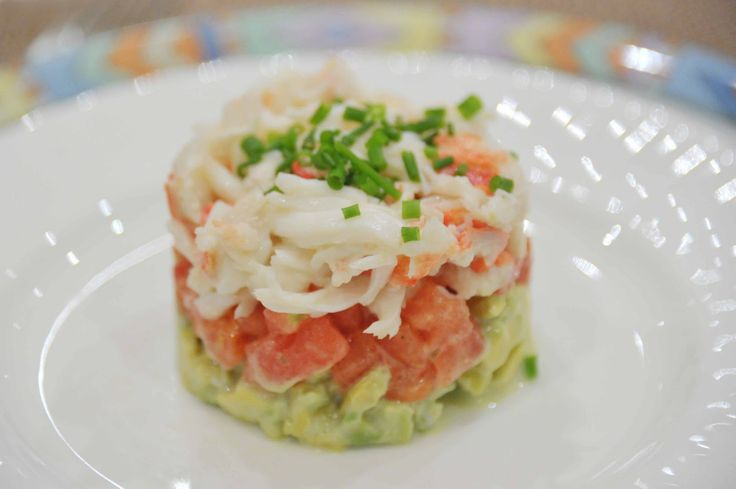 easy crab salaa   This is really easy to do as long as you are willing to devote some ...