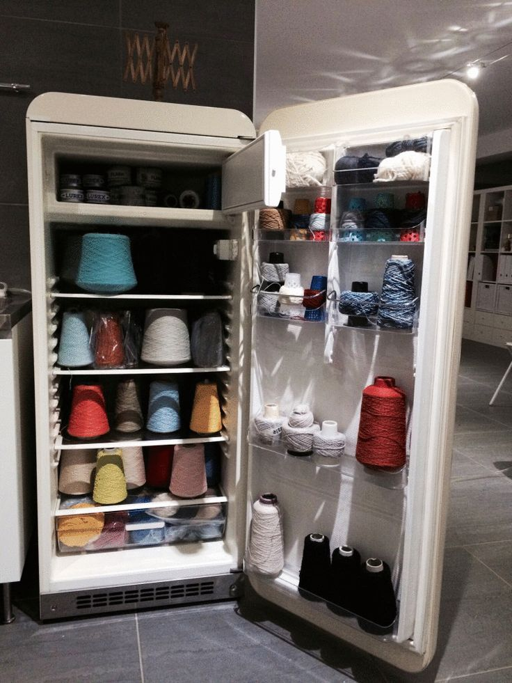 You won't believe what's inside this fridge! Ingenious storage solution by Inspiration & Realisation.