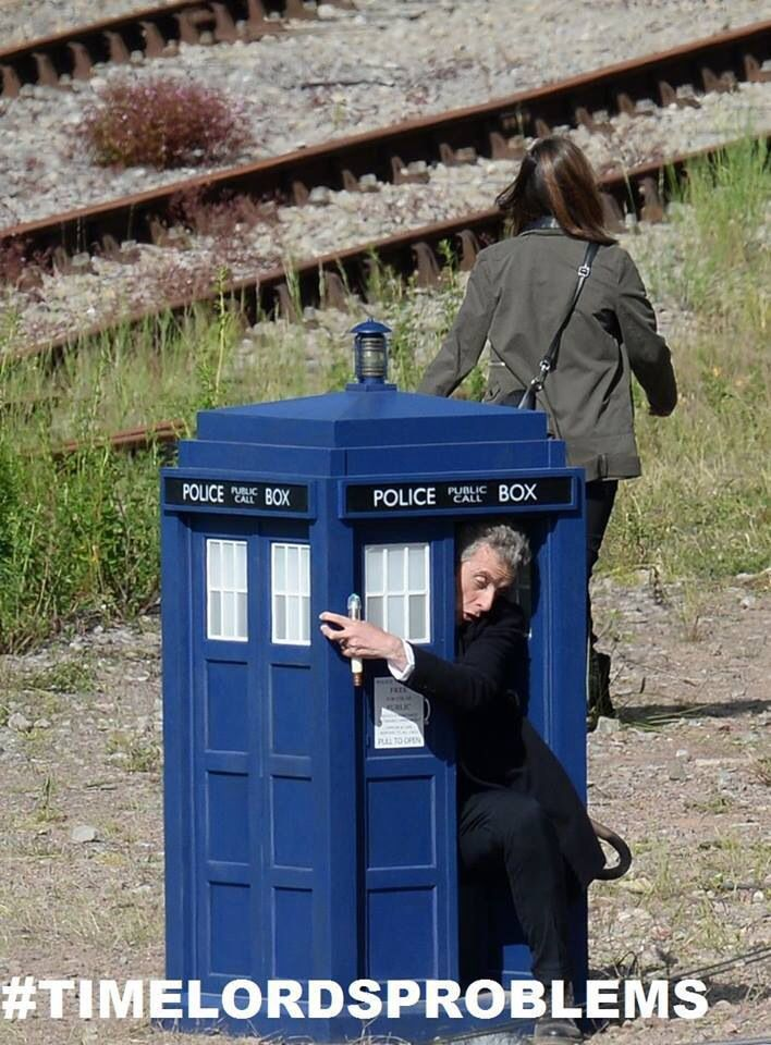 Time Lord Problems: When your TARDIS is too small.
