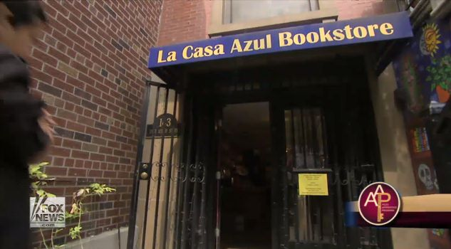East Harlem bookstore highlighting Latino literature started through community crowdfunding  A meeting place for Latinos across New York City. It's worh a visit if visit NYC.