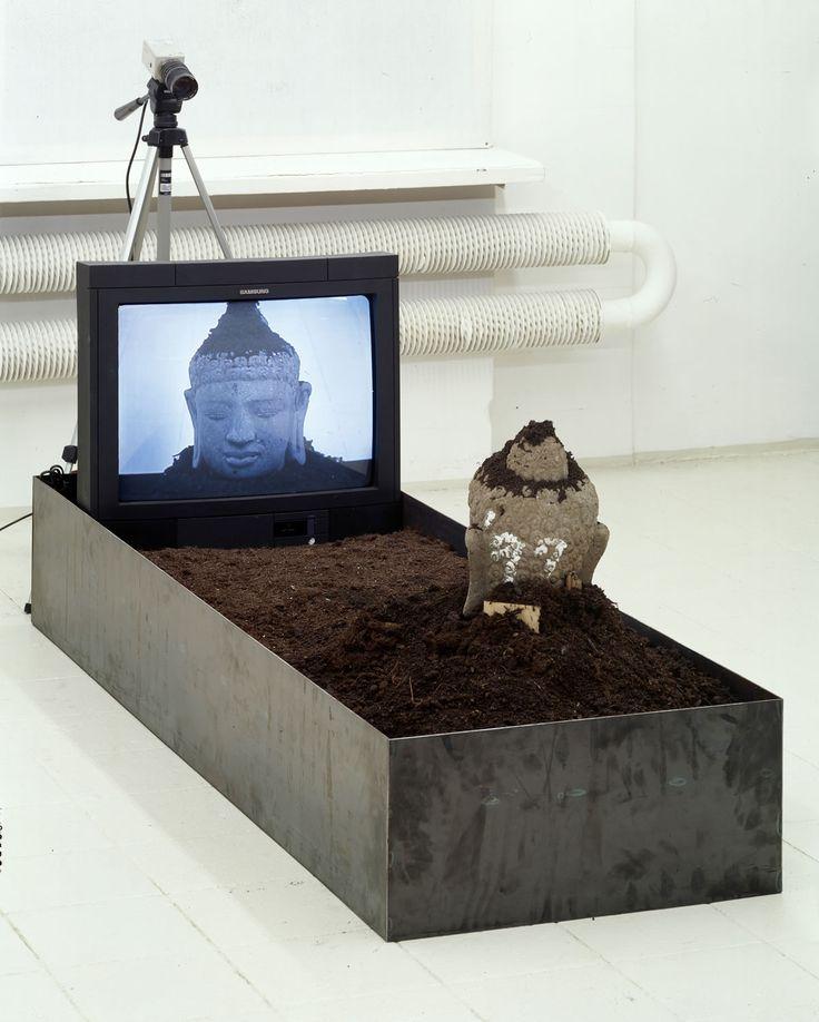 Nam June Paik, TV-Buddha, 1997 - CoSA | Contemporary Sacred Art