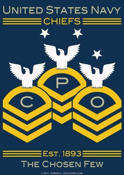 Us Navy Chiefs The Chosen Few United States Navy