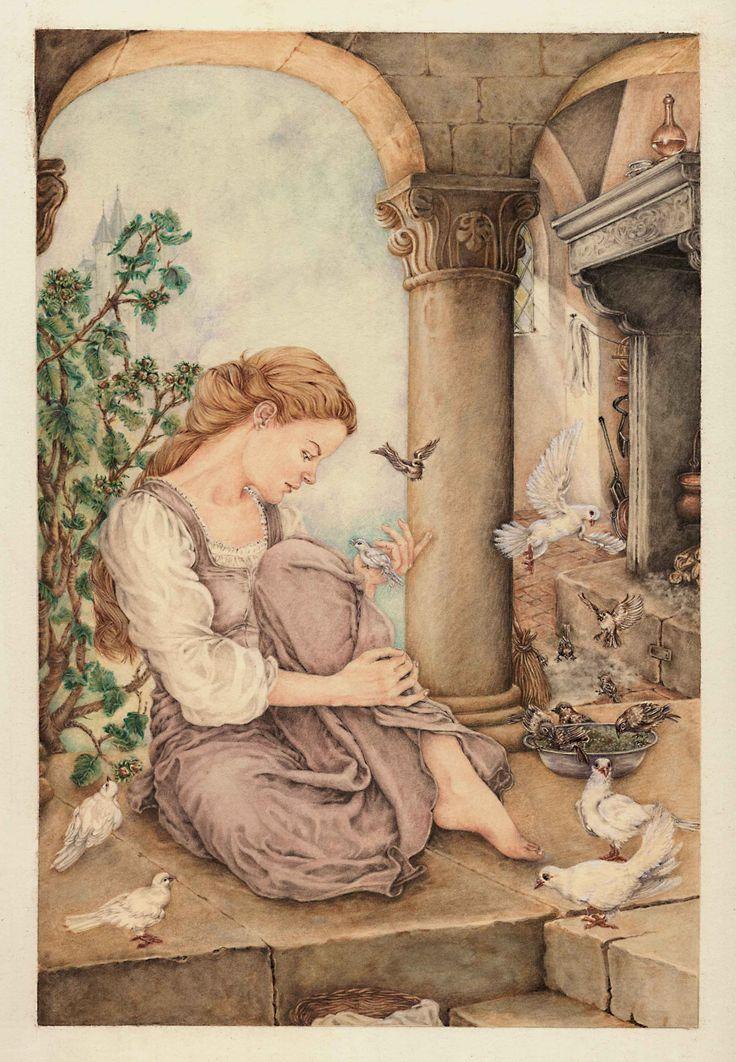 Cenerentola  Fratelli Grimm Illustrazione di Lucia Campinoti