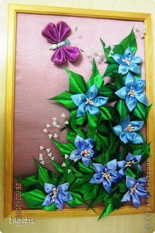 Декор предметов Картина панно рисунок 8 марта Моделирование конструирование Плетение Цумами Канзаши И опять подарки...