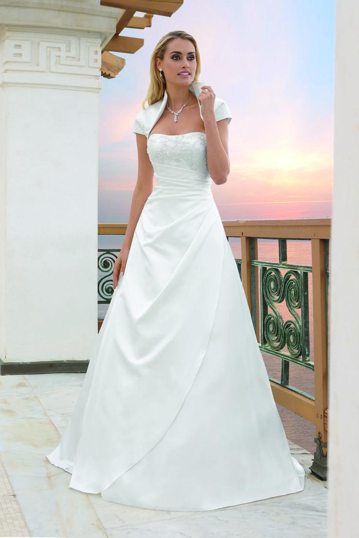 17 besten Hochzeitskleid Bilder auf Pinterest   Hochzeitskleider ...