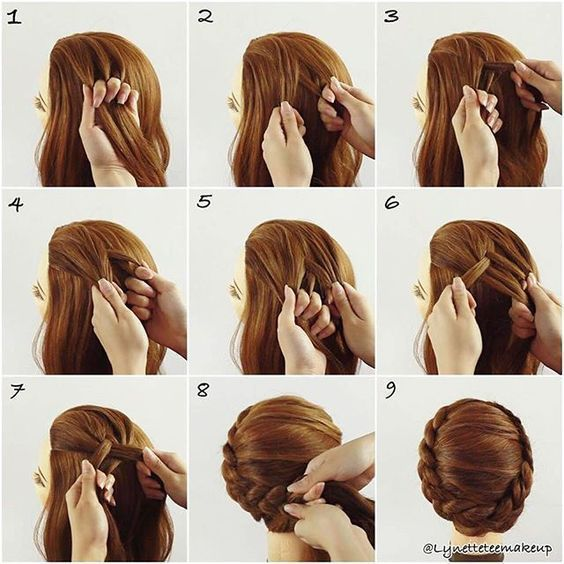 Easy Step by Step Hair Tutorials for Long, Medium and Short Hair #SimpleHairstyl…