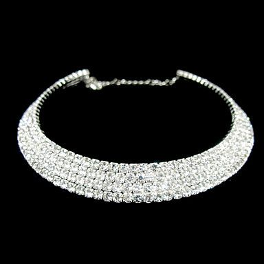 Gorgeous+Clear+Crystal+Wedding+Bridal+Jewelry+Necklaces+–+USD+$+19.99