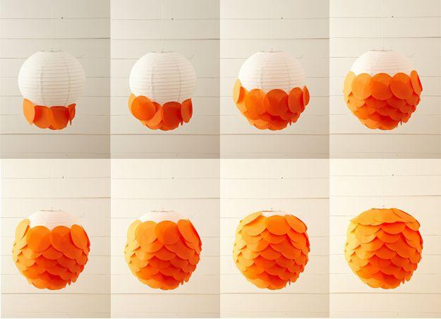 17 meilleures id es propos de lanternes de papier de soie sur pinterest p - Lanterne papier ikea ...