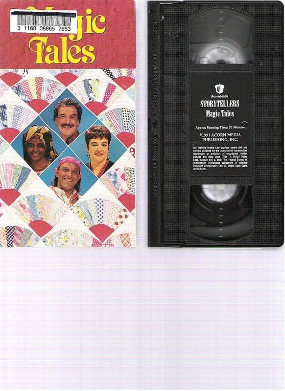 Acorn Media STORYTELLERS MAGIC TALES Stories VHS Video