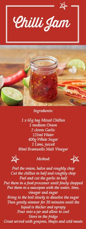 Are you looking for homemade gift ideas? Then this chilli jam #recipe is the perfect gift for someone special this #Christmas!
