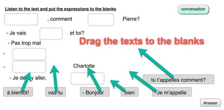 how to make a sentence feminine in french