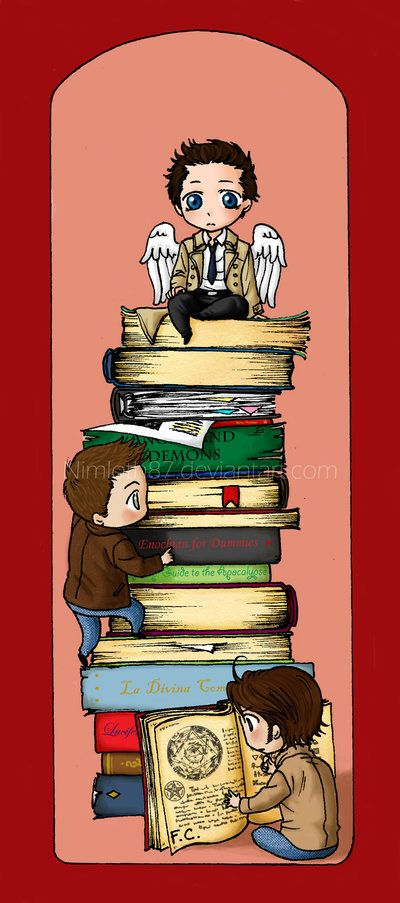 SPN Bookmark by Nimloth87.deviantart.com on @deviantART