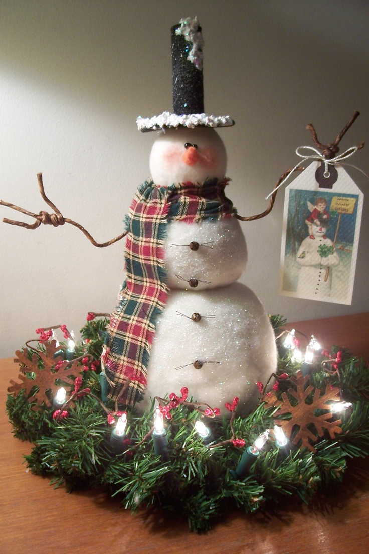 Www Christmas Ideas Decorations For Living Room: 875 Best Images About Snowman Decorations On Pinterest